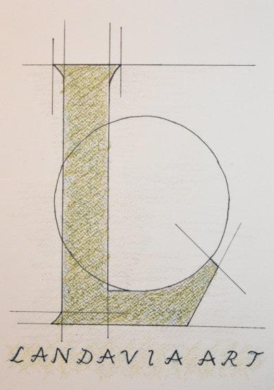 Landavia art logo